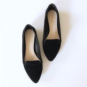 Nine West Black Velvet Smoking Loafer - Size 7.5